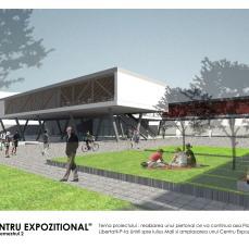 centru expozitional Timisoara - plansa 1