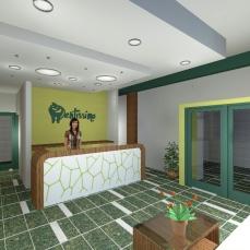 Amenajare interioara cabinet stomatologic - Razvan P. Botofan - Birou de arhitectura