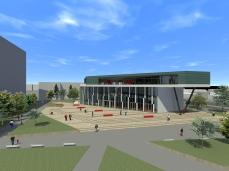 proiect diploma arhitectura - Razvan Botofan - exterior aerian