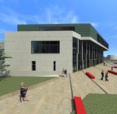 proiect diploma arhitectura - Razvan Botofan - exterior