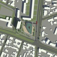 proiect diploma arhitectura - Razvan Botofan -plan situatie