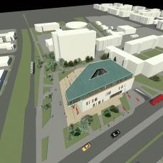 proiect diploma arhitectura - Razvan Botofan -vedere aeriana