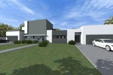 Casa moderna parter - Razvan P. Botofan - Birou de arhitectura