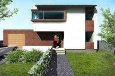Casa moderna cu sarpanta Timisoara - Razvan P. Botofan - Birou de arhitectura