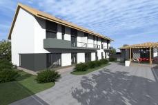 trei locuinte cuplate - Razvan P. Botofan - Birou de arhitectura
