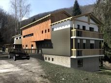 "varianta 2 - Cabana Centrul Turistic "" Valea lui Liman"" - Razvan P. Botofan - Birou de arhitectura"