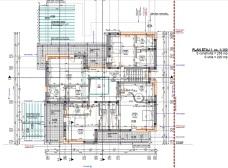 casa moderna plan etaj - Razvan P. Botofan - Birou de arhitectura