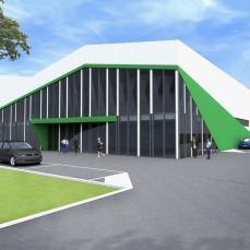 2proiect hala industriala - Razvan P. Botofan - Birou de arhitectura