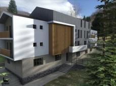 "varianta 1 - Cabana Centrul Turistic "" Valea lui Liman"" - Razvan P. Botofan - Birou de arhitectura"