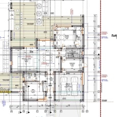 casa moderna plan parter - Razvan P. Botofan - Birou de arhitectura