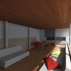 terasa moderna - Razvan P. Botofan - Birou de arhitectura