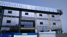 montare fatada - Refunctionalizare depozit tuica-vin in cladire de birouri - Razvan P. Botofan - Birou de arhitectura