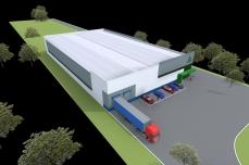 proiect hala industriala - Razvan P. Botofan - Birou de arhitectura