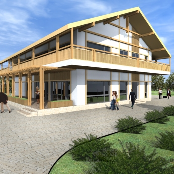 complex turistic restaurant - Razvan P. Botofan - Birou de arhitectura
