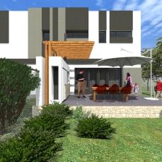 terasa duplex modern - Razvan P. Botofan - Birou de arhitectura
