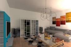 duplex modern interior - Razvan P. Botofan - Birou de arhitectura