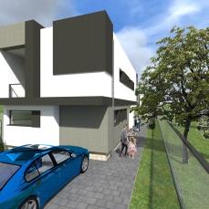 jumatate duplex modern - Razvan P. Botofan - Birou de arhitectura