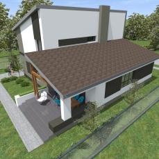 casa moderna cu sarpanta Timisoara - Razvan P. Botofan - Birou de arhitectura - arhitect Timisoara
