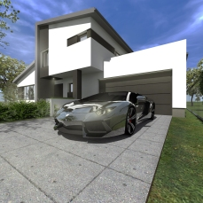casa moderna Timisoara - Razvan P. Botofan - Birou de arhitectura - arhitect Timisoara