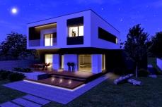 Casa moderna cu etaj- Razvan P. Botofan - Birou de arhitectura Timisoara