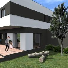 Casa moderna cu etaj- Razvan P. Botofan - Birou de arhitectura