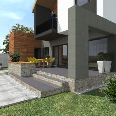 terasa moderna - arhitect Razvan Botofan - Birou de arhitectura Timisoara