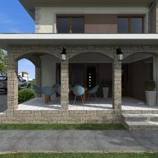 casa stil mediteranean - arhitect Razvan Botofan - Birou de arhitectura Timisoara