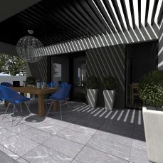 terasa acoperita arhitect Razvan Botofan - Birou de arhitectura Timisoara