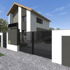 gard modern - arhitect Razvan Botofan - Birou de arhitectura Timisoara