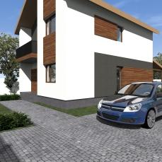 casa moderna arhitect Razvan Botofan - Birou de arhitectura Timisoara