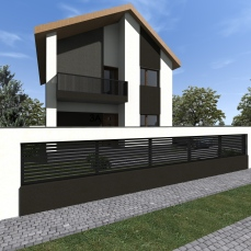 proiect casa moderna-arhitect Razvan Botofan - Birou de arhitectura Timisoara