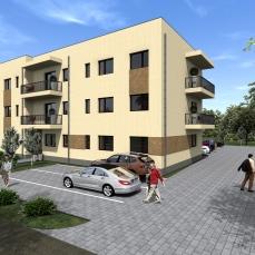 10ab proiect locuinte colective - apartamente moderne - arhitect Razvan Botofan - Birou de arhitectura Timisoara