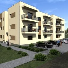 6ab proiect locuinte colective - apartamente moderne - arhitect Razvan Botofan - Birou de arhitectura Timisoara