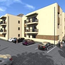 7ab proiect locuinte colective - apartamente moderne - arhitect Razvan Botofan - Birou de arhitectura Timisoara