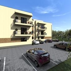 9ab proiect locuinte colective - apartamente moderne - arhitect Razvan Botofan - Birou de arhitectura Timisoara
