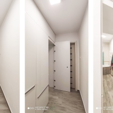 IMG_20200323_173358a - arhitect Razvan Botofan - Birou de arhitectura Timisoara - amenajare moderna hol acces intrare baie si bucatarie