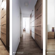 IMG_20200323_181325 - arhitect Razvan Botofan - Birou de arhitectura Timisoara - amenajare moderna hol spre dormitor si birou